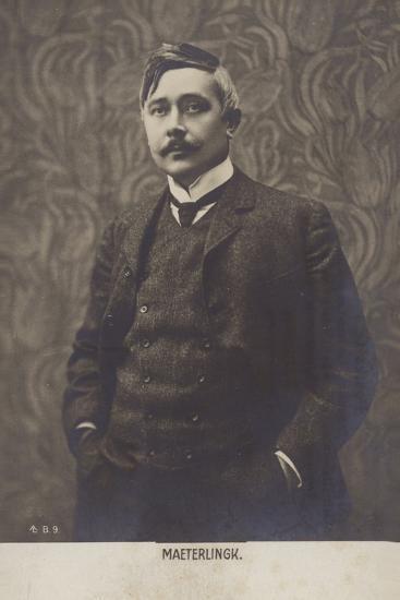Portrait of Maurice Maeterlinck--Photographic Print