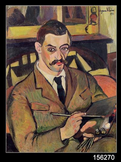 Portrait of Maurice Utrillo-Suzanne Valadon-Giclee Print