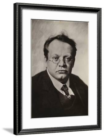 Portrait of Max Reger--Framed Photographic Print