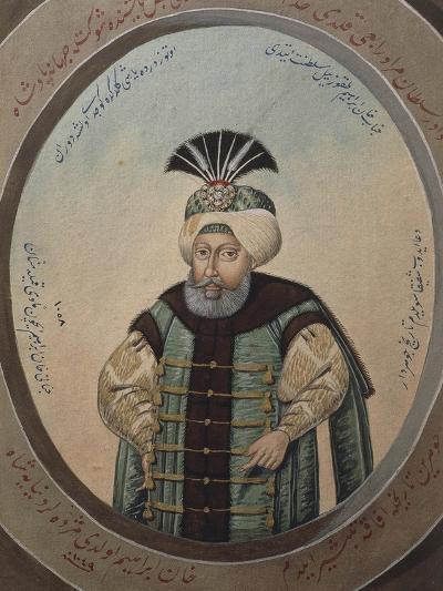 Portrait of Mehmet IV--Giclee Print