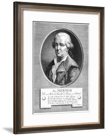 Portrait of Mesmer--Framed Giclee Print