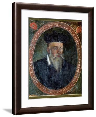 Portrait of Michel de Nostradame-Cesar Nostradamus-Framed Giclee Print