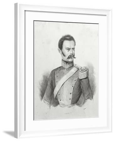 Portrait of Michele Morelli, 1790-1822--Framed Giclee Print