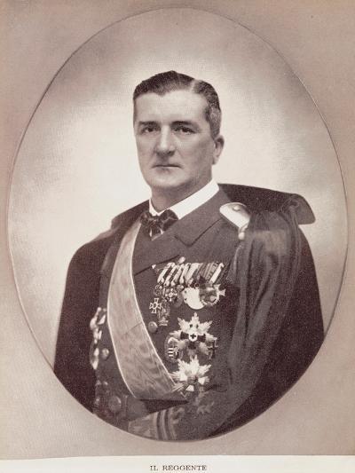 Portrait of Miklos Horthy De Nagybanya--Giclee Print