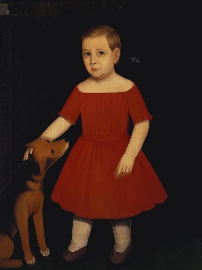 Portrait of Milo Barnum Richardson, c.1852-Ammi Phillips-Giclee Print