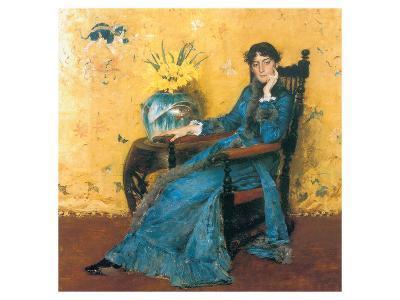 Portrait Of Miss Dora Wheeler-William Merritt Chase-Premium Giclee Print