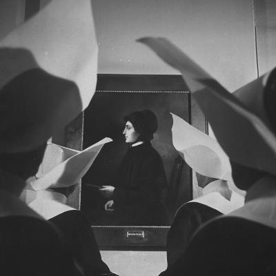 Portrait of Mother Elizabeth Seton, Foundress of the Us Branch of the Sisters of Charity Order-Hank Walker-Photographic Print