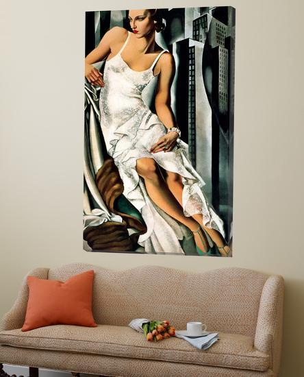 Portrait of Mrs Allan Bott-Tamara De Lempicka-Loft Art
