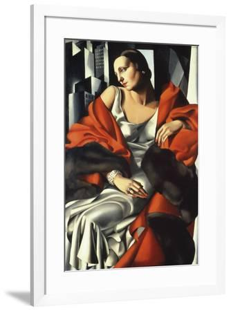 Portrait of Mrs Boucard-Tamara de Lempicka-Framed Giclee Print