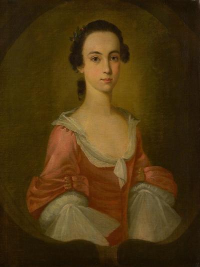 Portrait of Mrs. Gardner Greene, 1770-Jeremiah Theus-Giclee Print