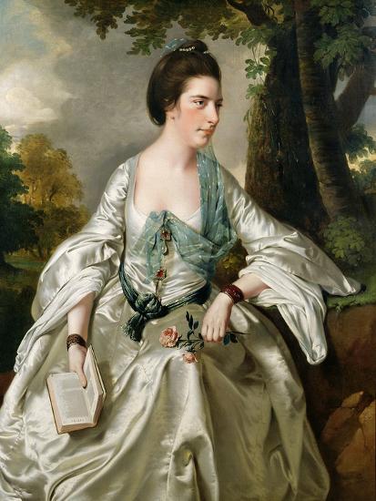 Portrait of Mrs. Nicholas Ashton, Nee Mary Warburton Philpot, 1769-Joseph Wright of Derby-Giclee Print