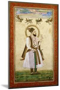 Portrait of Muhammad 'Adil Shah Ii, C.1650 (W/C and Gold Paint on Paper)