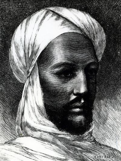 Portrait of Muhammad Ahmad (1844-1885)--Giclee Print