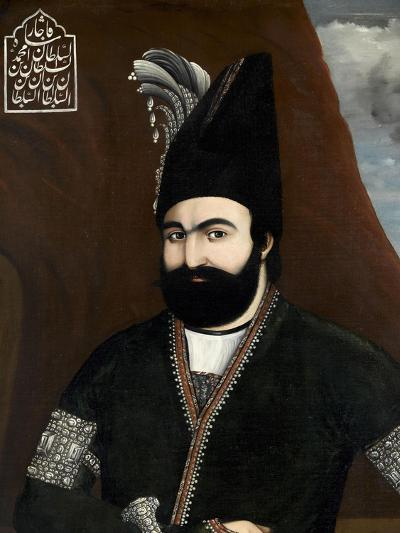 Portrait of Muhmmad Shah, King of Persia (1834-1848)--Giclee Print