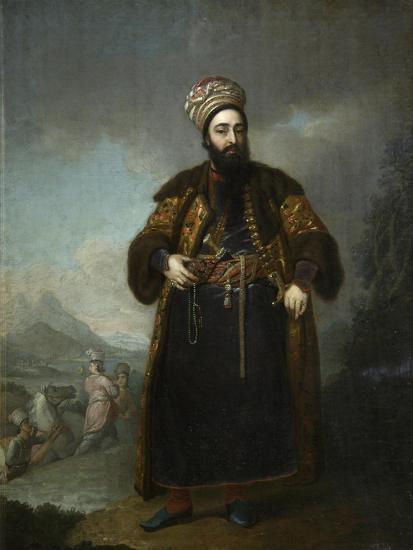 Portrait of Murtaza Kuli Khan, 1796-Vladimir Lukich Borovikovsky-Giclee Print