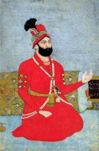 Portrait of Nadir Shah Afshar of Persia, 1700-25