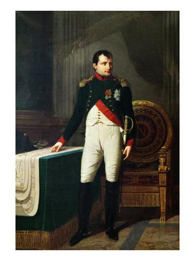 Portrait of Napoleon Bonaparte 1809-Robert Lefevre-Giclee Print