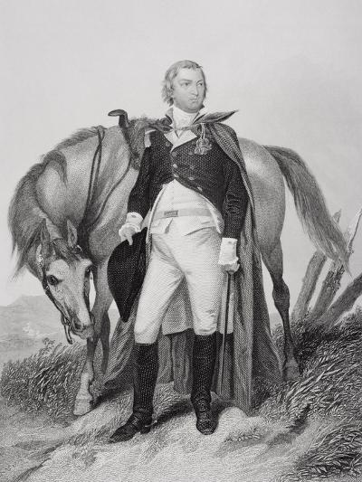 Portrait of Nathanael Greene (1742-86)-Alonzo Chappel-Giclee Print