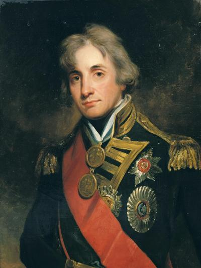 Portrait of Nelson (1758-1805)-George Peter Alexander Healy-Giclee Print
