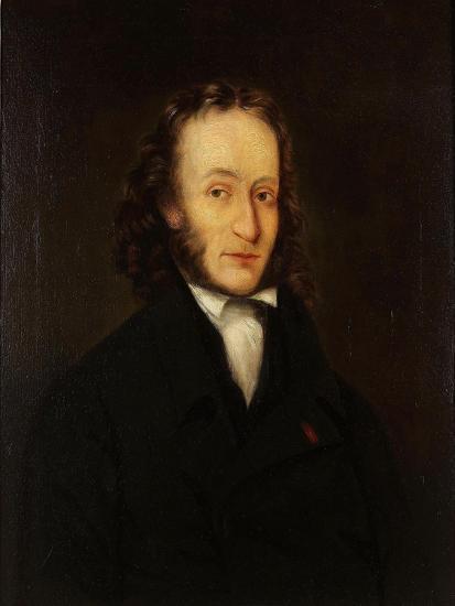 Portrait of Niccolò Paganini (1782-184), 1836-John Whittle-Giclee Print