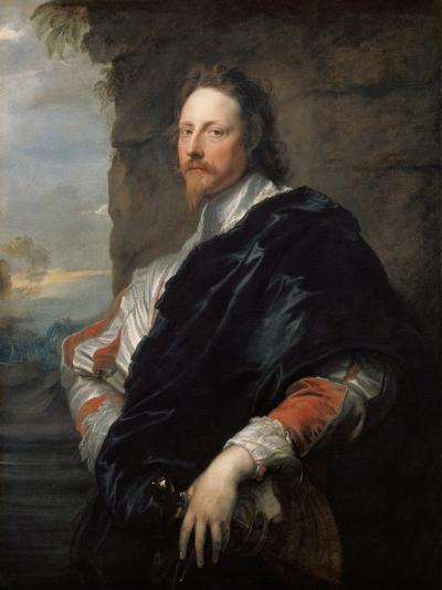 Portrait of Nicholas Lanier (1588-166), 1628-Sir Anthony Van Dyck-Giclee Print