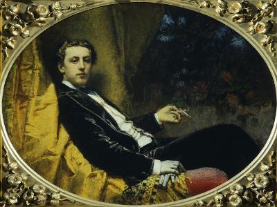 Portrait of Nicola Massa-Tranquillo Cremona-Giclee Print