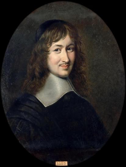 Portrait of Nicolas Fouquet (1615-168)-Jean Édouard Lacretelle-Giclee Print