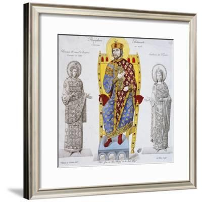 Portrait of Nikephoros III Botaneiates--Framed Giclee Print