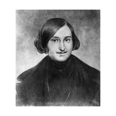 Portrait of Nikolai Gogol--Giclee Print