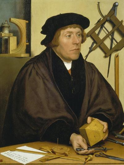 Portrait of Nikolaus Kratzer, 1528-Hans Holbein the Younger-Giclee Print