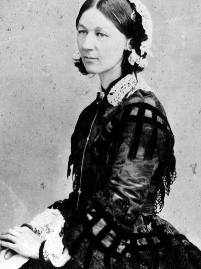 Portrait of Nurse Florence Nightingale--Premium Photographic Print