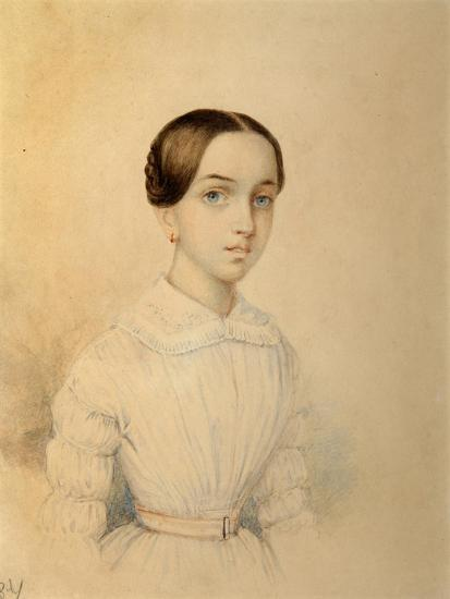Portrait of O.A. Rehbinder--Giclee Print