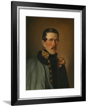 Portrait of Of a Marine Officer-Alexei Vasilyevich Tyranov-Framed Giclee Print