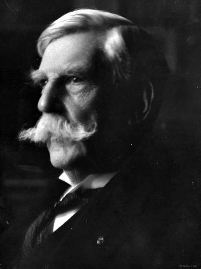 Portrait of Oliver Wendell Holmes, American Jurist and Associate Justice of the U.S. Supreme Court--Premium Photographic Print