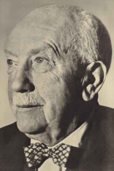 Portrait of Oscar Strauss--Photographic Print