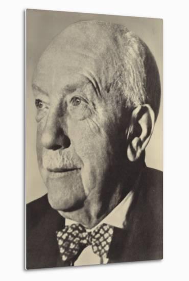 Portrait of Oscar Strauss--Metal Print