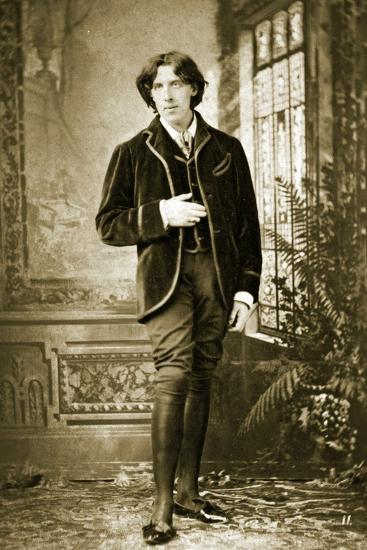 Portrait of Oscar Wilde C. 1882-Napoleon Sarony-Photographic Print