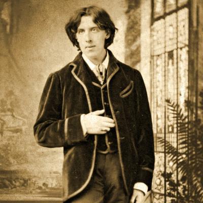 Portrait of Oscar Wilde C. 1882-Napoleon Sarony-Photographic Print