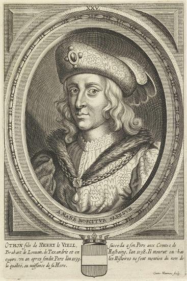 Portrait of Otto, Duke of Brabant and Leuven, 1662-Conrad Waumans-Giclee Print