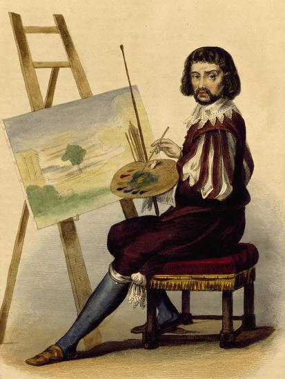 Portrait of Painter, Claude Lorrain--Giclee Print