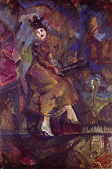 Portrait of Panna Paskevich-Georgi Bogdanovich Yakulov-Giclee Print