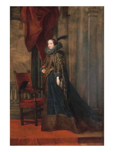 Portrait of Paolina Adorno Brignole Sale-Sir Anthony Van Dyck-Giclee Print