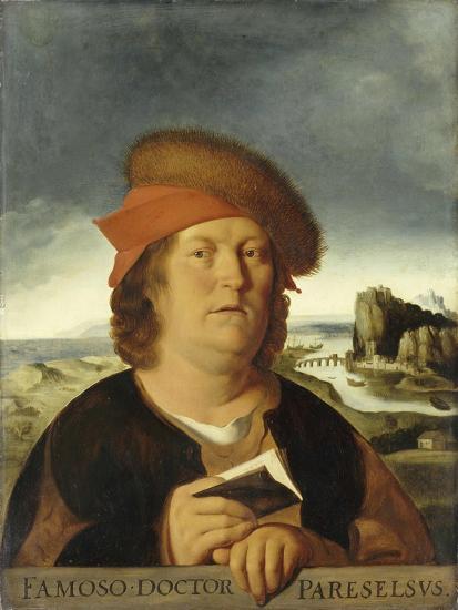 Portrait of Paracelsus-Quentin Massys-Giclee Print