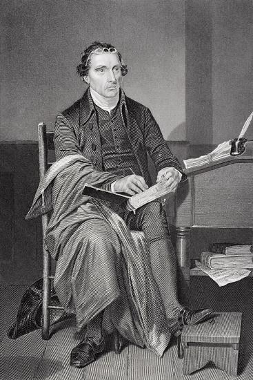 Portrait of Patrick Henry (1736-99)-Alonzo Chappel-Giclee Print