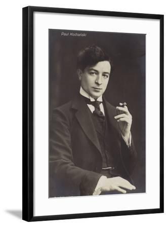 Portrait of Paul Kochanski--Framed Photographic Print
