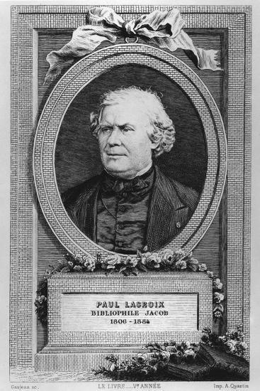 Portrait of Paul Lacroix-Eugène Gaujean-Giclee Print