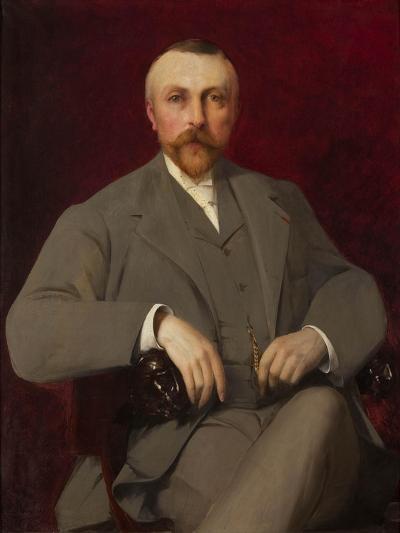 Portrait of Paul Marmottan, 1898-Elie Nonclercq-Giclee Print