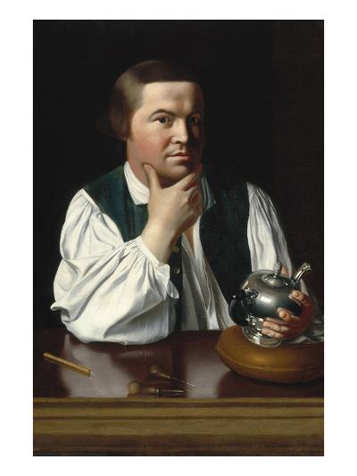 Portrait of Paul Revere-John Singleton Copley-Art Print