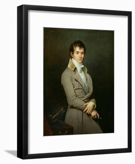Portrait of Paulin-Guerin 1801-Robert Lefevre-Framed Giclee Print