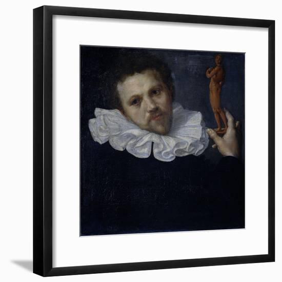 Portrait of Paulus Van Vianen-Cornelis Ketel-Framed Premium Giclee Print